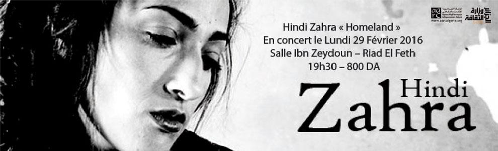 Concert Hindi Zahra
