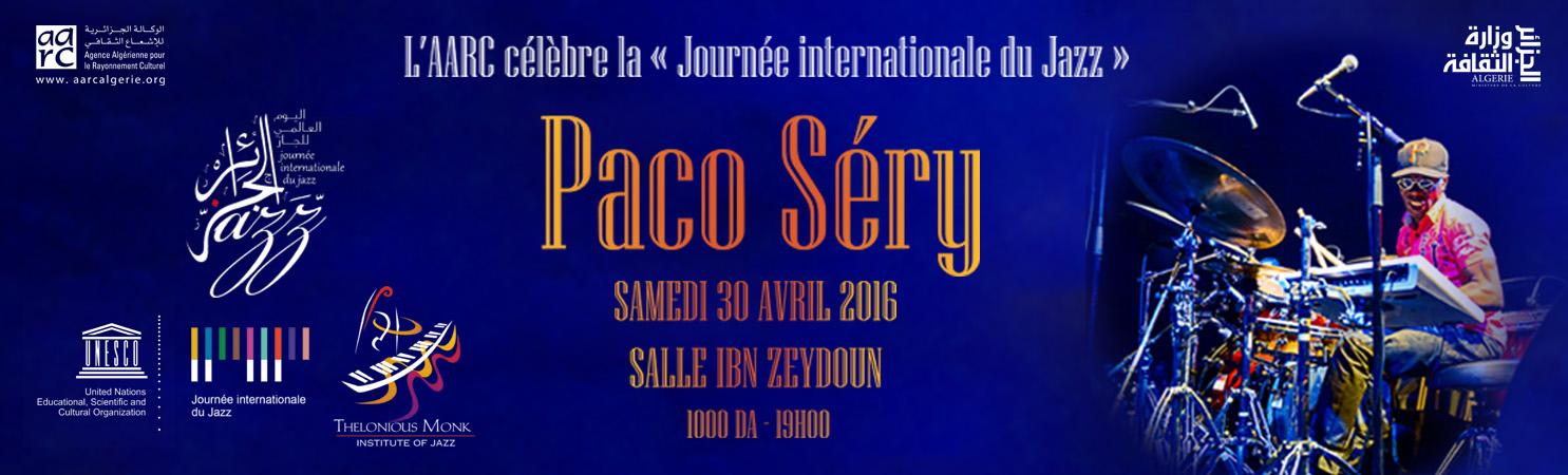 Paco Séry célèbre la Journée internationale du Jazz